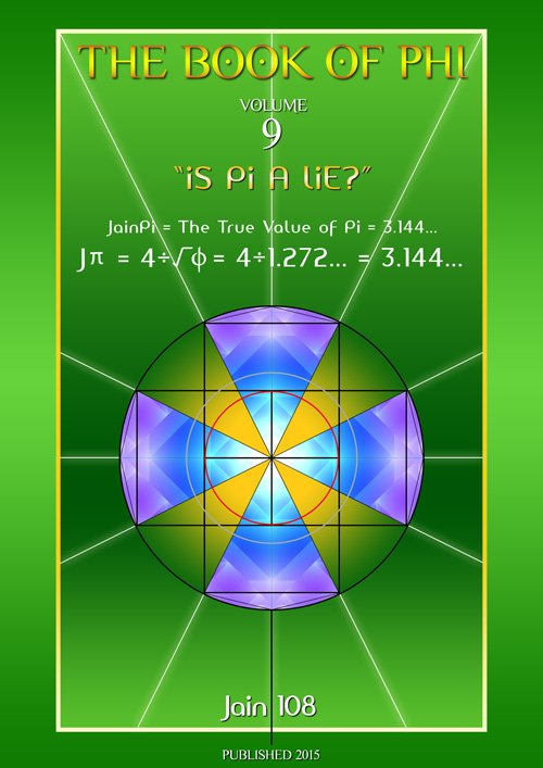 The BOOK Of PHI, vol 9: Is Pi A Lie? PDF of Powerpoint