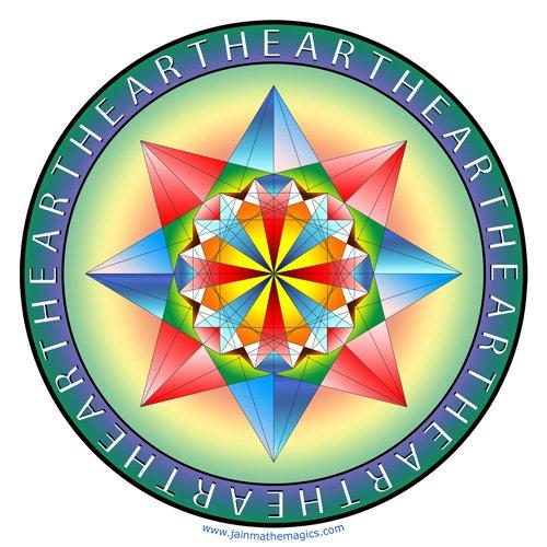 Oneness Decal Sticker Multiplication Table Jain 108