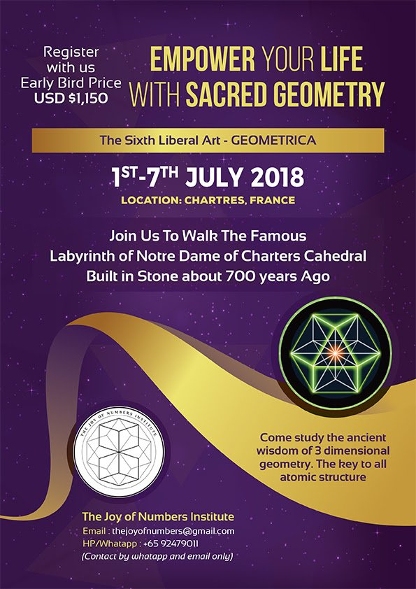 vedic mathematics and sacred geometry events